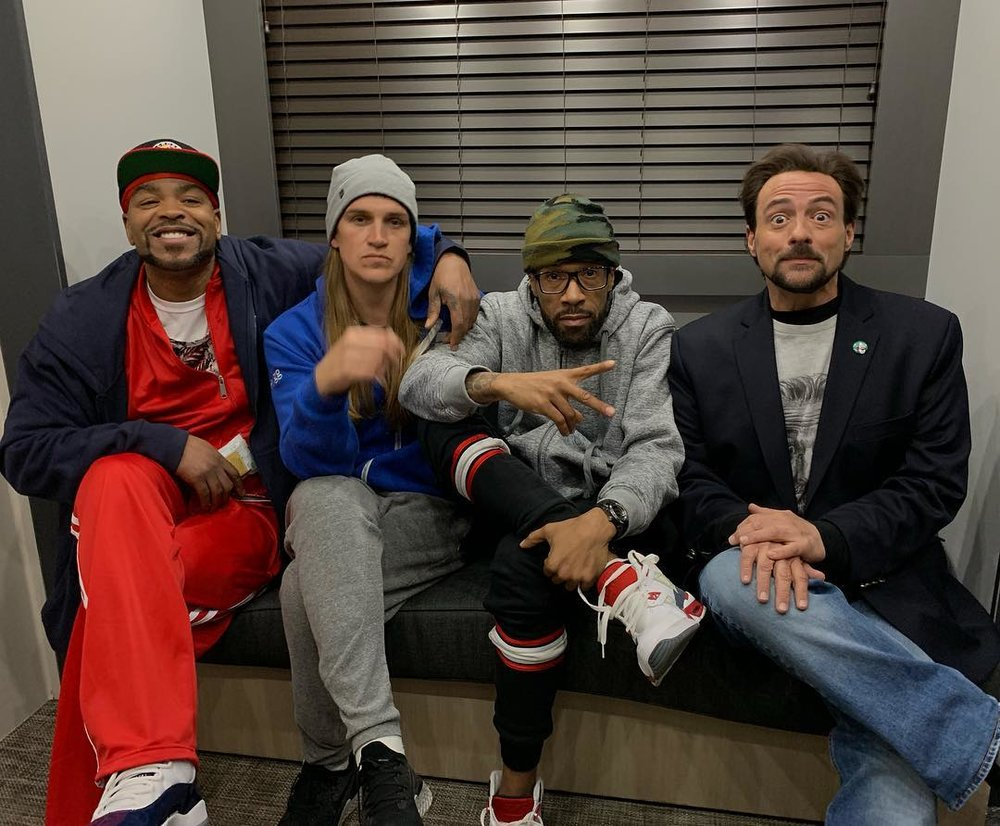 Method Man, Jason Mewes, Redman, Kevin Smith