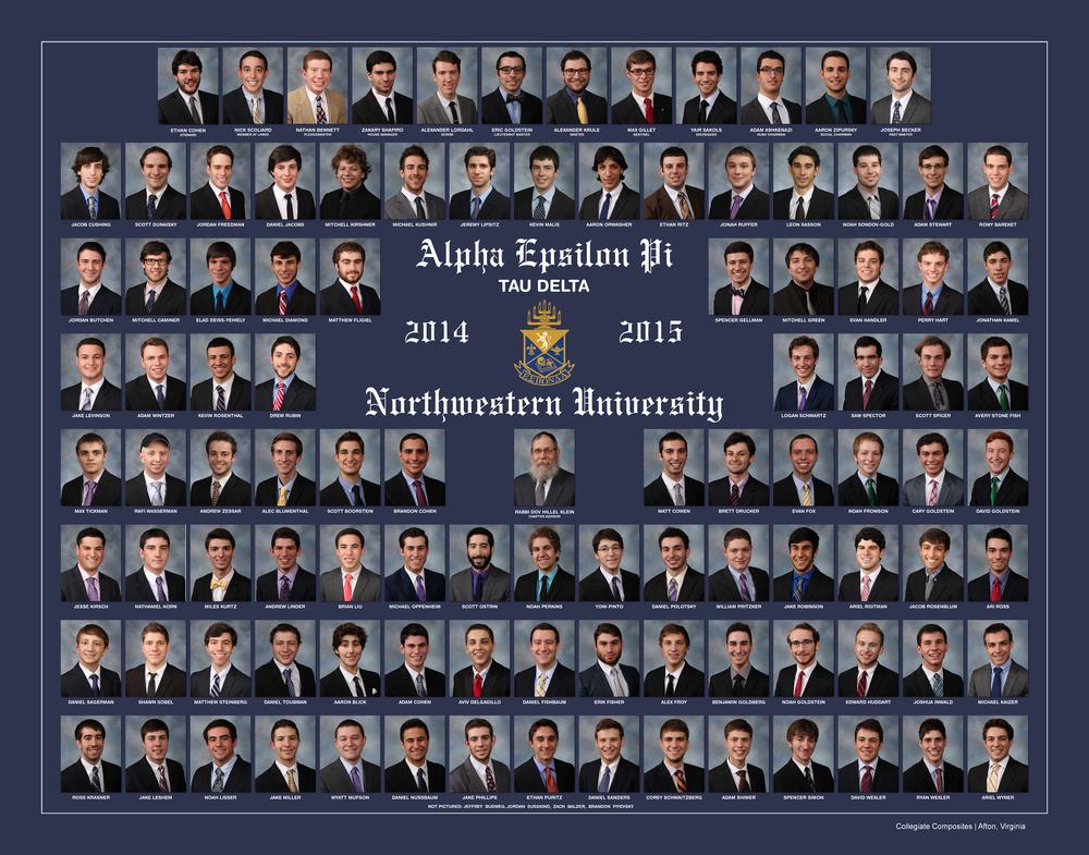 Northwestern Univ. Alpha Epsilon Pi Print Spring 2015.jpg