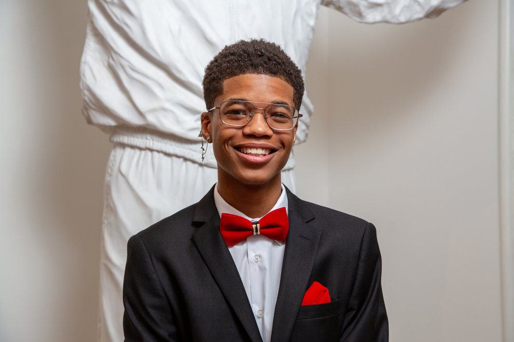 Jaesean - Northside - Jaesean has been a member for four years. He encourages other members to be themselves, find their voices and to never stop growing. The 10th grader is an aspiring actor and is involved with the drama club at his high school.