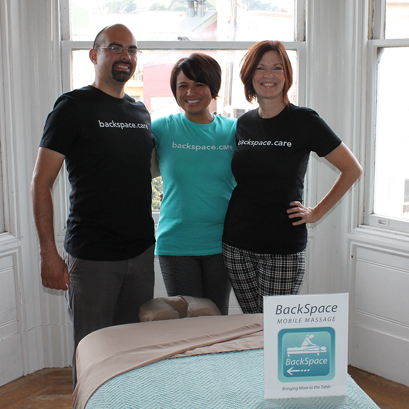 Our San Francisco Mobile Massage Team