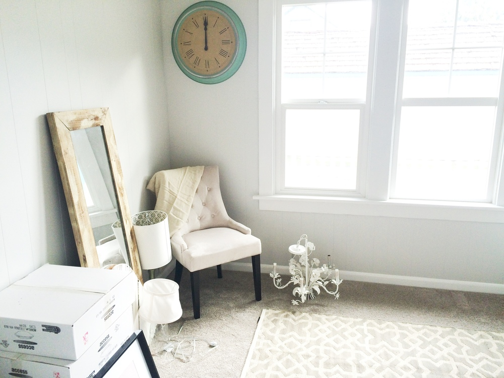 Office Makeover During Pictures | Beautiful Home Office Inspiration | DIY Project | Office Reveal | Renovation Series | Emma Rose Company | Craftsman Style Home Renovation | DIY