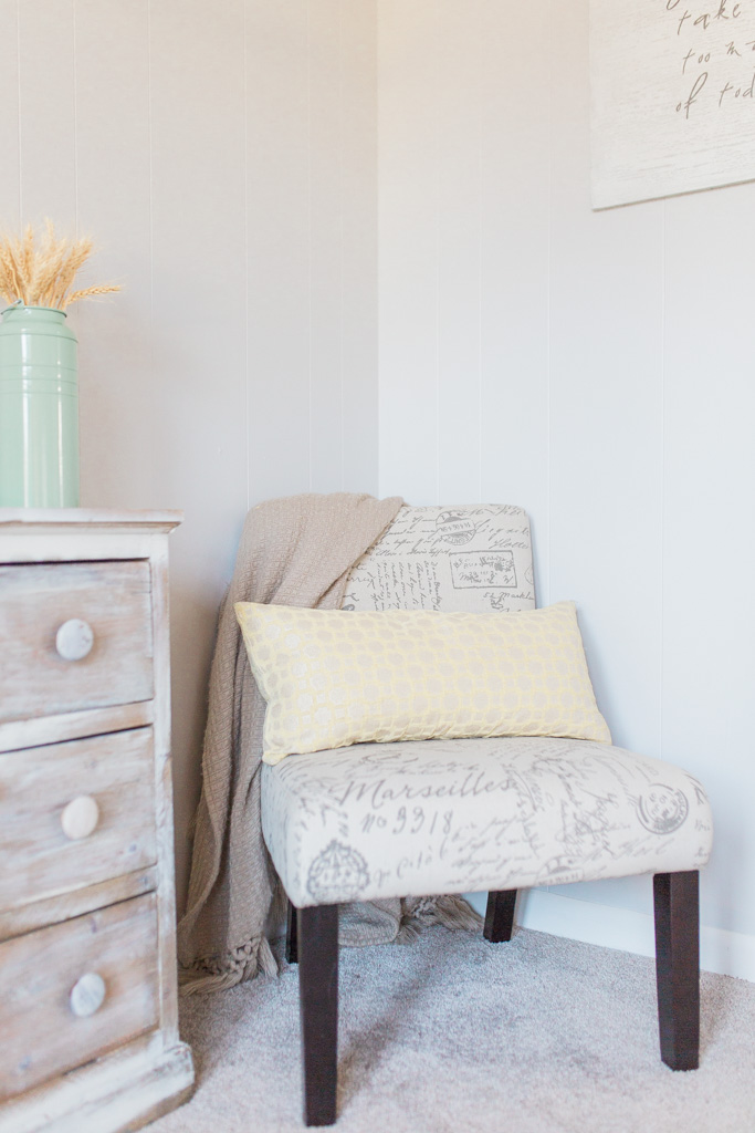 Office Makeover After Pictures | Beautiful Home Office Inspiration | DIY Project | Office Reveal | Renovation Series | Emma Rose Company | Craftsman Style Home Renovation | Cozy Chair | TJ Maxx Design