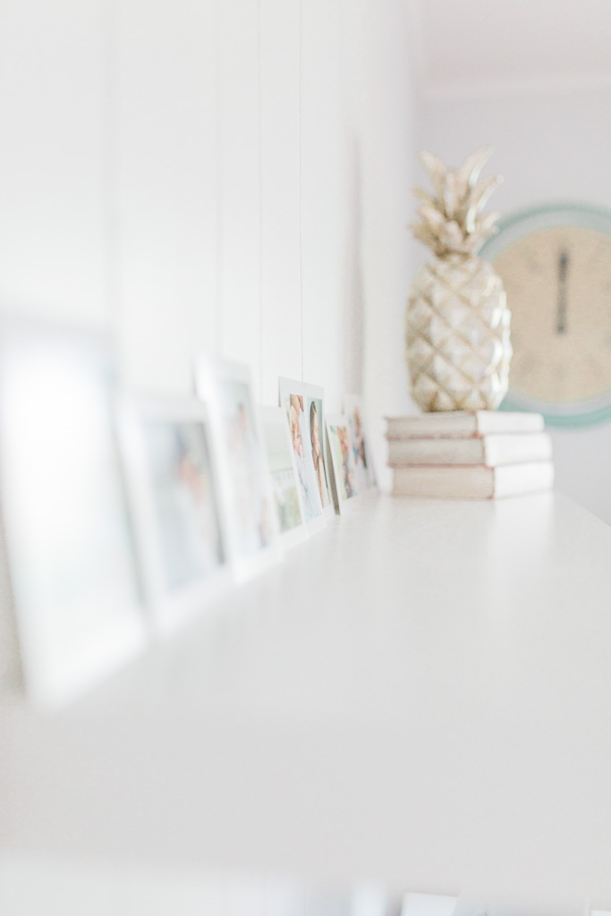 Office Makeover After Pictures | Beautiful Home Office Inspiration | DIY Project | Office Reveal | Renovation Series | Emma Rose Company | Craftsman Style Home Renovation | Office Details | Entrepreneur Dream Space | Blue Shutters | Office Space Details | Silver Pineapple Wayfair | Ikea Lack Shelves | Vintage Books