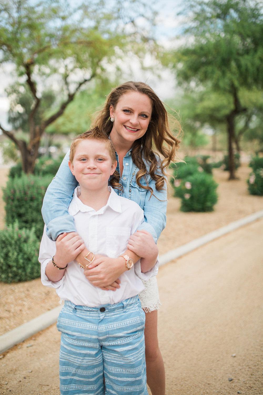 Mom and Son Photo Shoot | Arizona Session | Single Mom | Mom and Son | Family Photo Session | Glendale, Arizona | Beautiful Posing Techniques