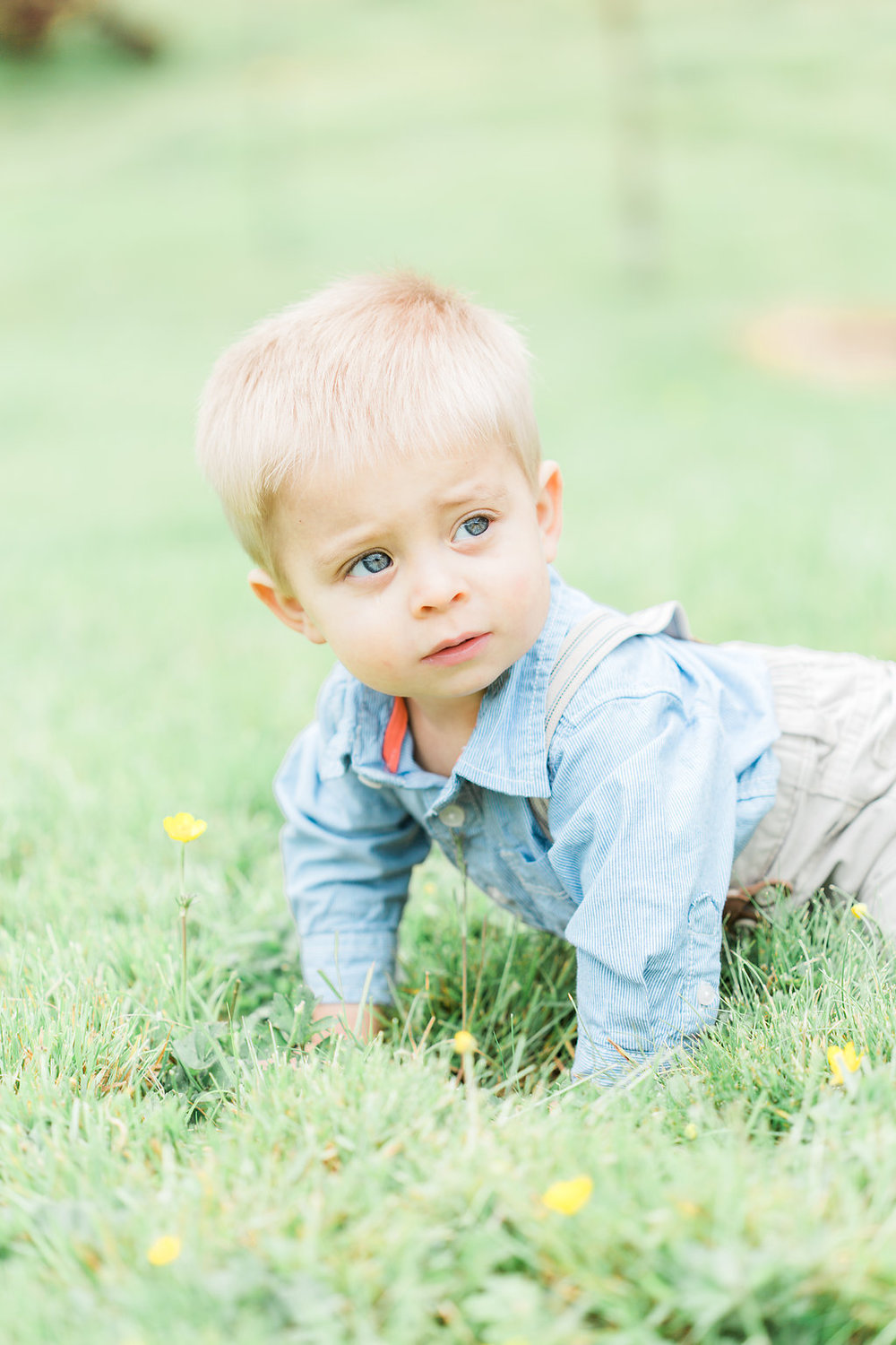 Family Photo Session | What to Wear for Family Pictures | Twin Photo Session | Family Photography | Mastin Labs | Lifestyle Photography | Twin Boys Photo Session | Little Boy in Green Field