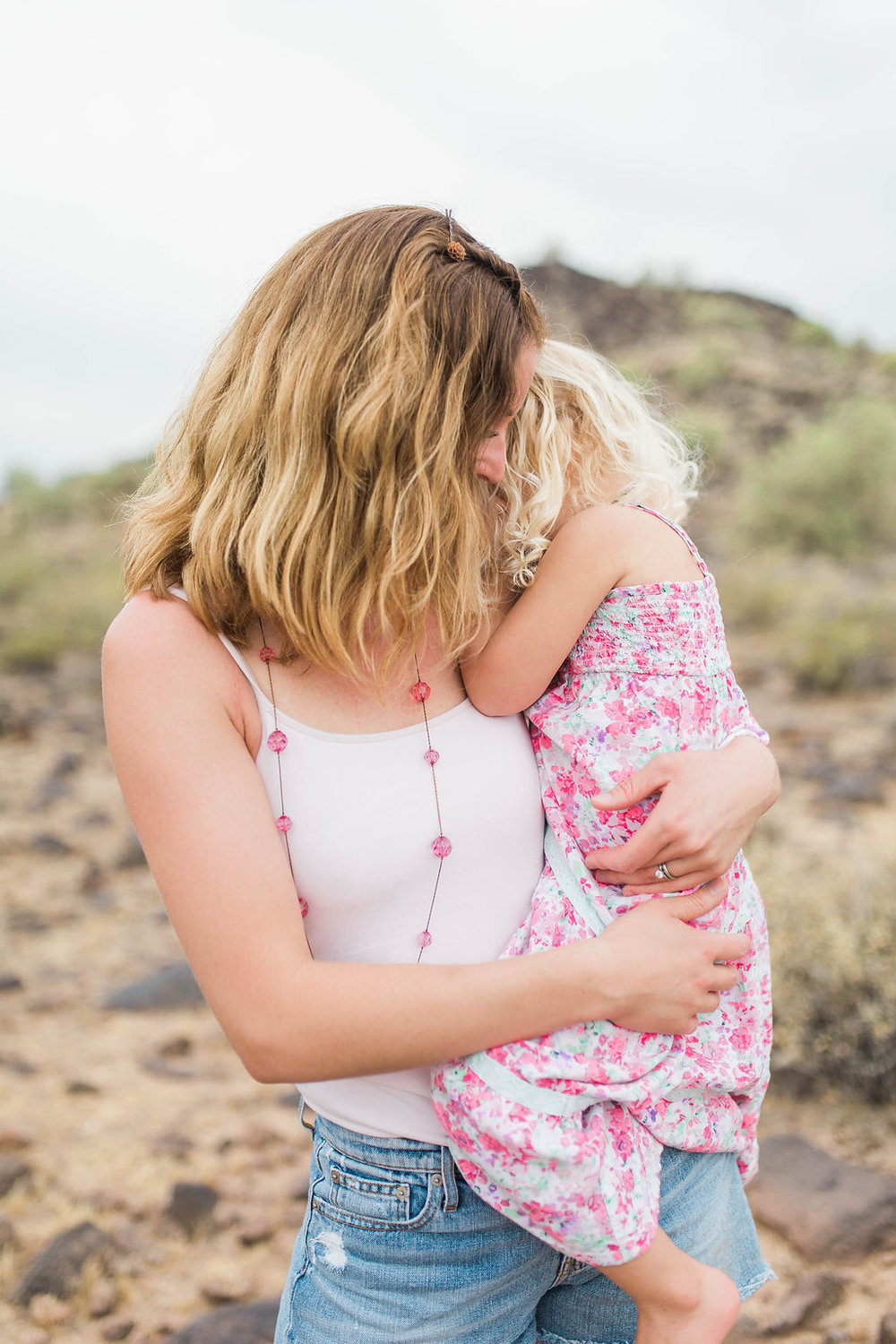 Desert Family Photo Shoot in Arizona | Emma Rose Company | Portrait Photographer | Seattle Wedding Photographer | Adorable Family Photo Shoot Outside | Family Posing | Cute Kids | Family Photo Shoot | Husband and Wife Pictures | What to Wear for pictures | Mother Daughter Pictures
