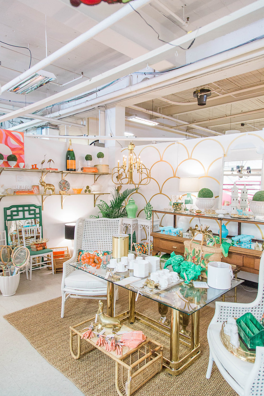 Forage Retail | Downtown Seattle, Washington | Antique Mall | Dreamy White and Gold Lifestyle | Event Decor | Dream White Home | Dream Home Tour | White House | Stunning Space | As Featured in Style Me Pretty | SMP Living | Gorgeous Retail Space | How to Style Your Life