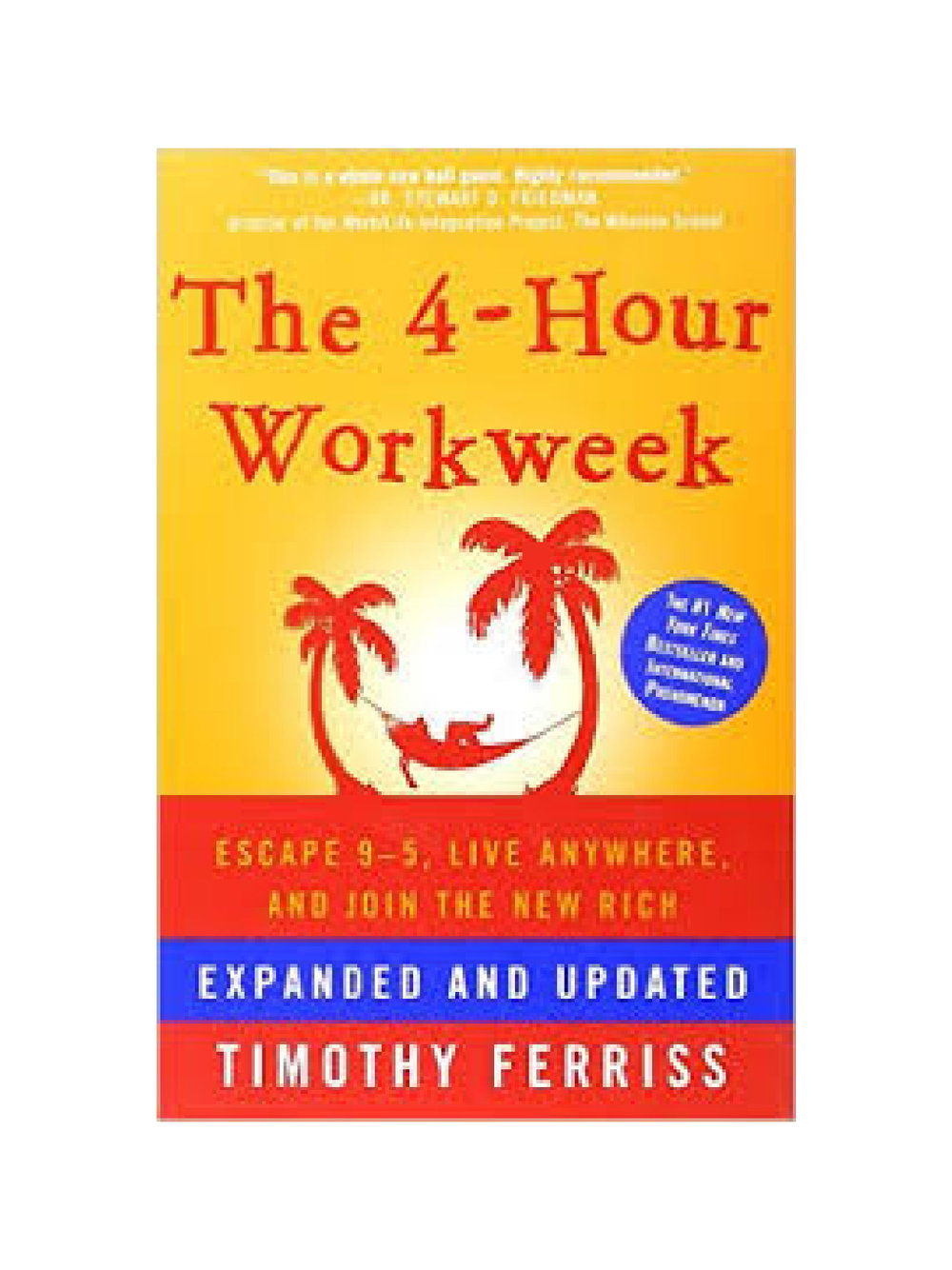 THE 4 HOUR WORKWEEK buy now