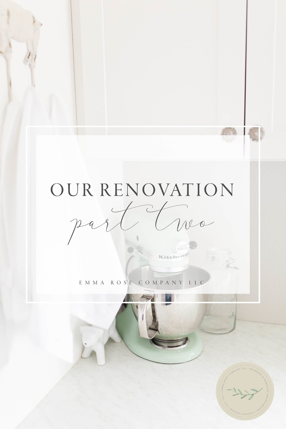 Emma Rose Company Home Renovation Part Two During | DIY Home Improvement