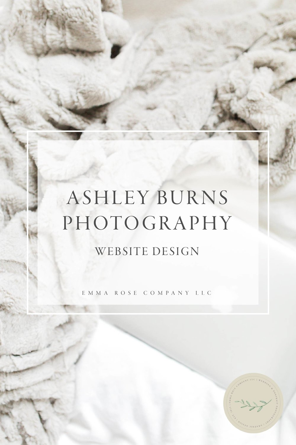 Ashley Burns Photography Website Design by Emma Rose Company LLC