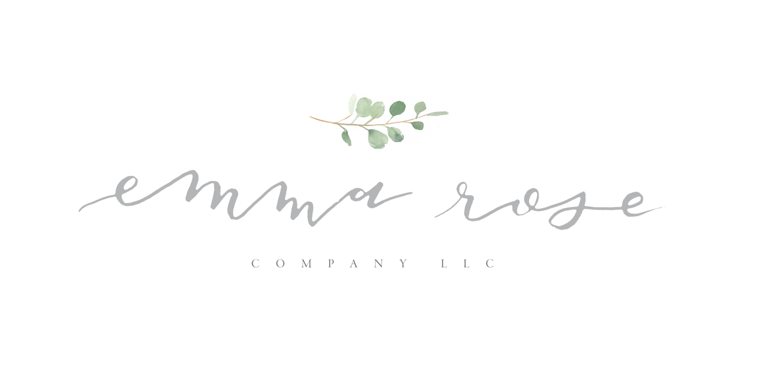 Wedding Photographer | Graphic Designer | Emma Rose Company LLC