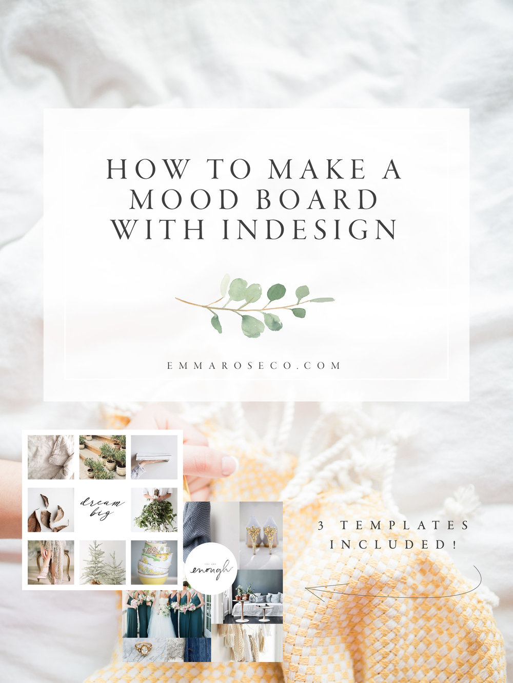 How to make a mood board with InDesign