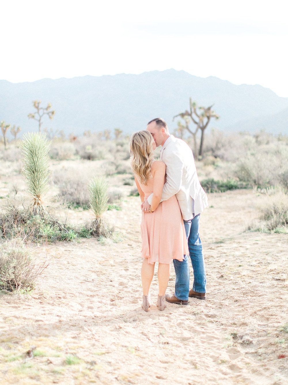 Joshua Tree Engagement Session | What to Wear for Pictures | Southern California Wedding Photographer | Mastin Labs Fuji Film | Fine Art Photographer | Desert Shoot | Gorgeous Sunset Desert Shoot.jpg