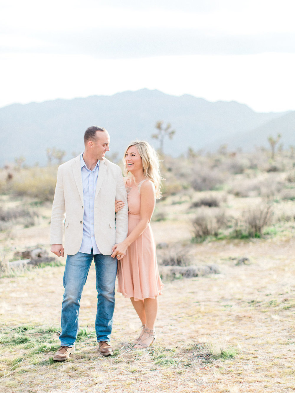 Joshua Tree Engagement Session | What to Wear for Pictures | Southern California Wedding Photographer | Mastin Labs Fuji Film | Fine Art Photographer | Desert Shoot | Natural Session in the Desert.jpg