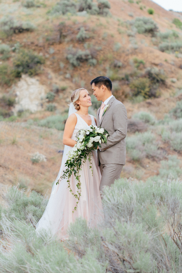 Intimate Backyard Blush Fairytale Wedding | Wenatchee Wedding Photographer | Fine Art Seattle Wedding Photographer | Blush Wedding | Wedding Details | Sunset Bridal Portraits Sagebrush