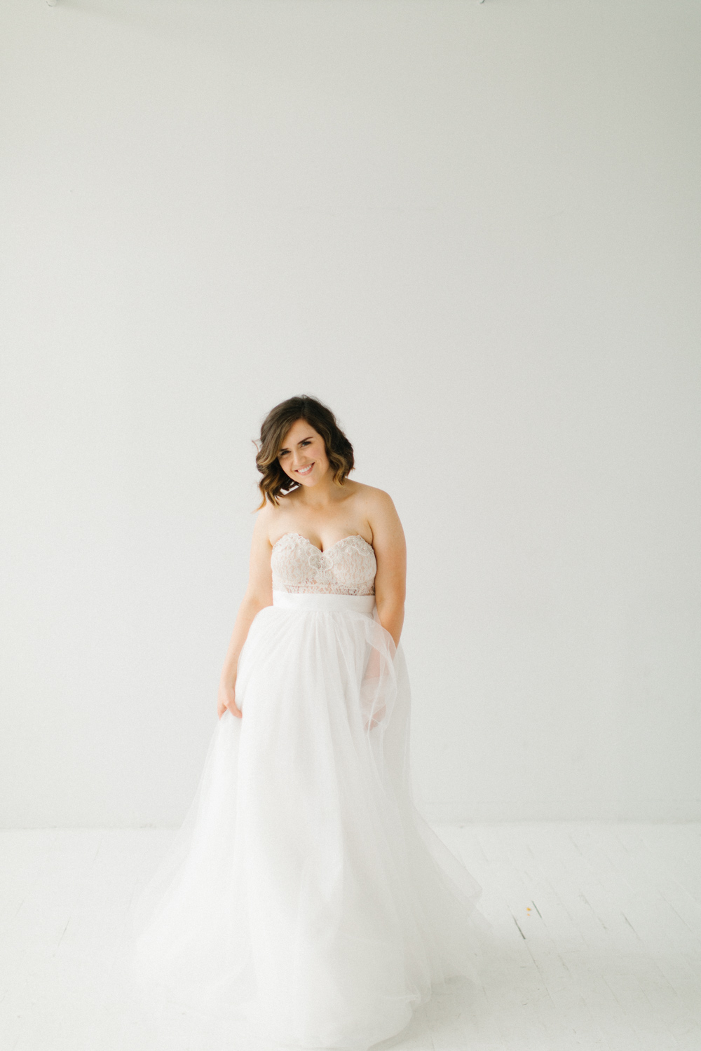 Seattle Fine Art Wedding Photographer | Seattle Downtown White Studio Bridal Session | Stunning Wedding Bouquet | Seattle Bride | Seattle Wedding | Photography Studio Space | Emma Rose Company Wedding Photography-15.jpg