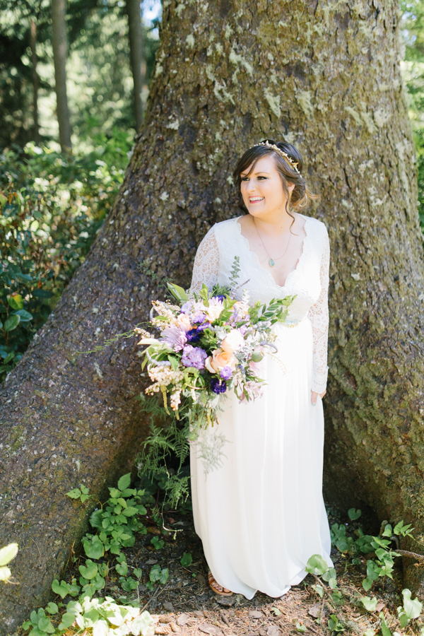 Oceanside Oregon Beach Wedding Details | Mermaid Wedding | Oregon Wedding on the Coast | Oregon Bride | Wedding Details | Bridal Party Portraits | Forest First Look-5.jpg