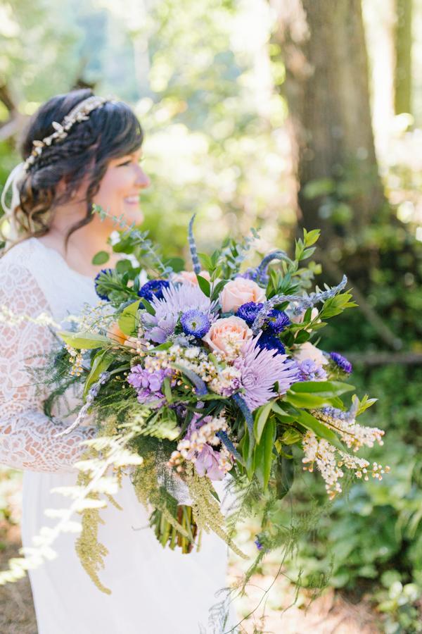 Oceanside Oregon Beach Wedding Details | Mermaid Wedding | Oregon Wedding on the Coast | Oregon Bride | Wedding Details | Bridal Party Portraits | Forest First Look-12.jpg