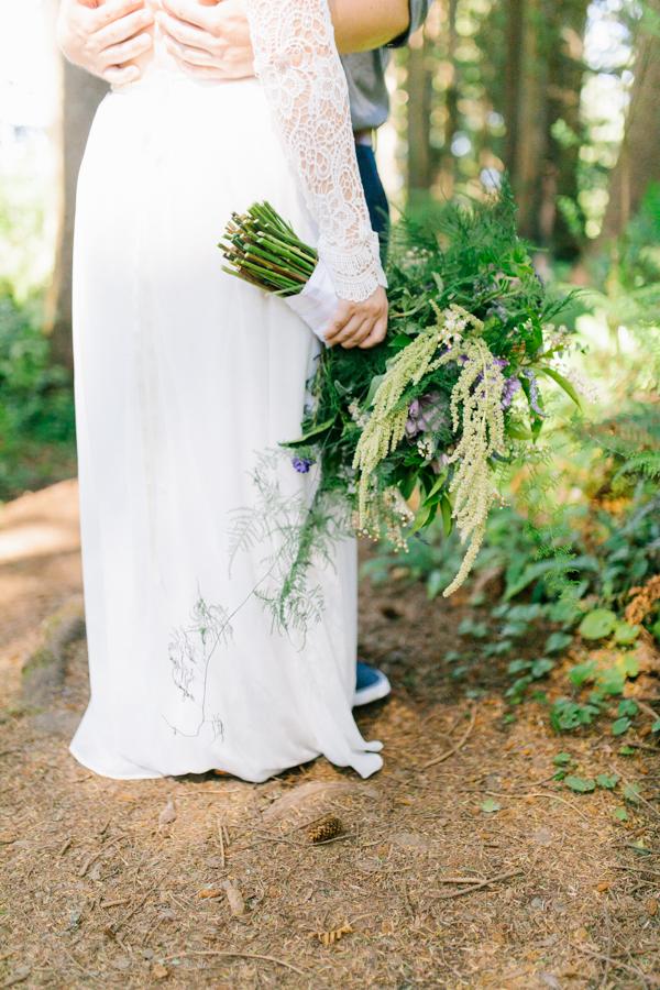 Oceanside Oregon Beach Wedding Details | Mermaid Wedding | Oregon Wedding on the Coast | Oregon Bride | Wedding Details | Bridal Party Portraits | Forest First Look-16.jpg