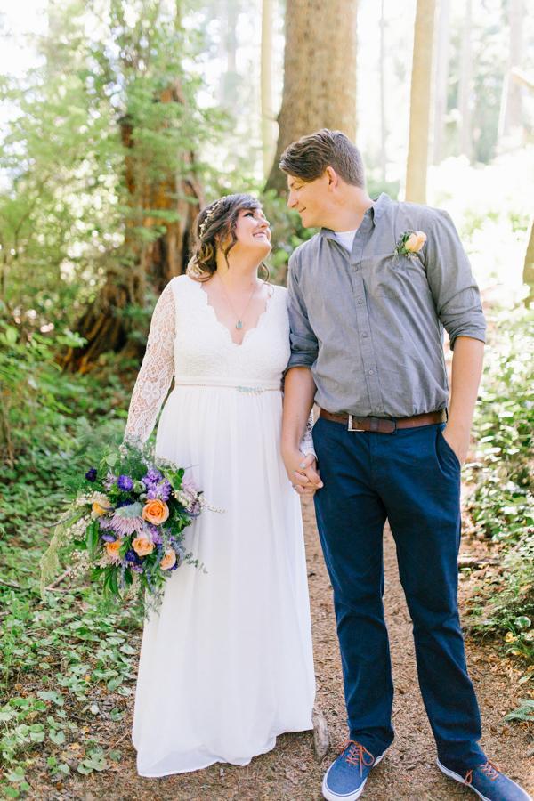 Oceanside Oregon Beach Wedding Details | Mermaid Wedding | Oregon Wedding on the Coast | Oregon Bride | Wedding Details | Bridal Party Portraits | Forest First Look-18.jpg
