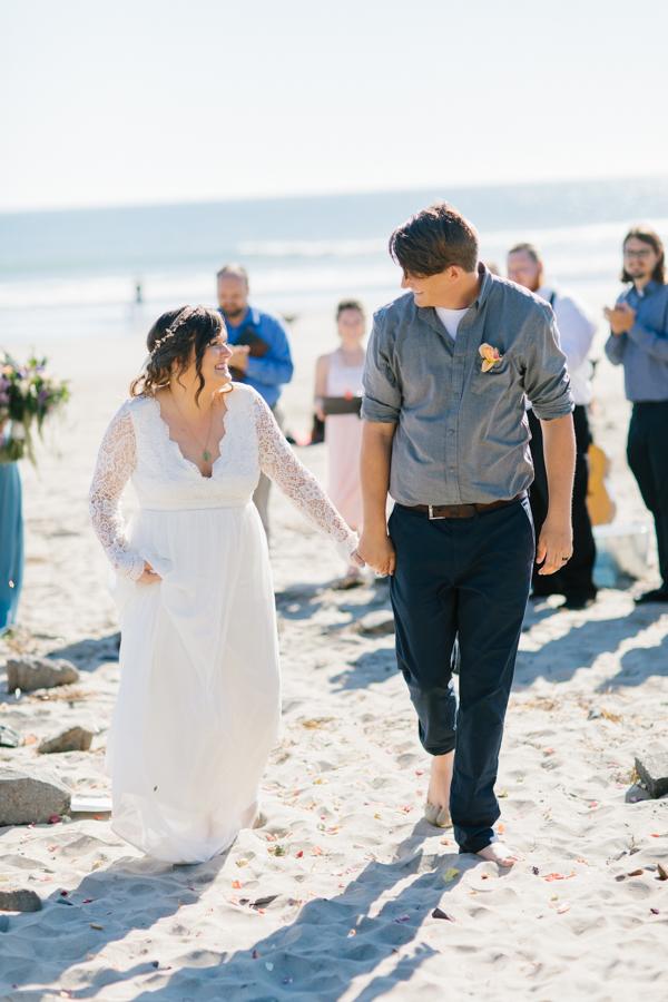 Oceanside Oregon Beach Wedding Details | Mermaid Wedding | Oregon Wedding on the Coast | Oregon Bride | Wedding Details | VSCO | Ceremony on the Beach-22.jpg