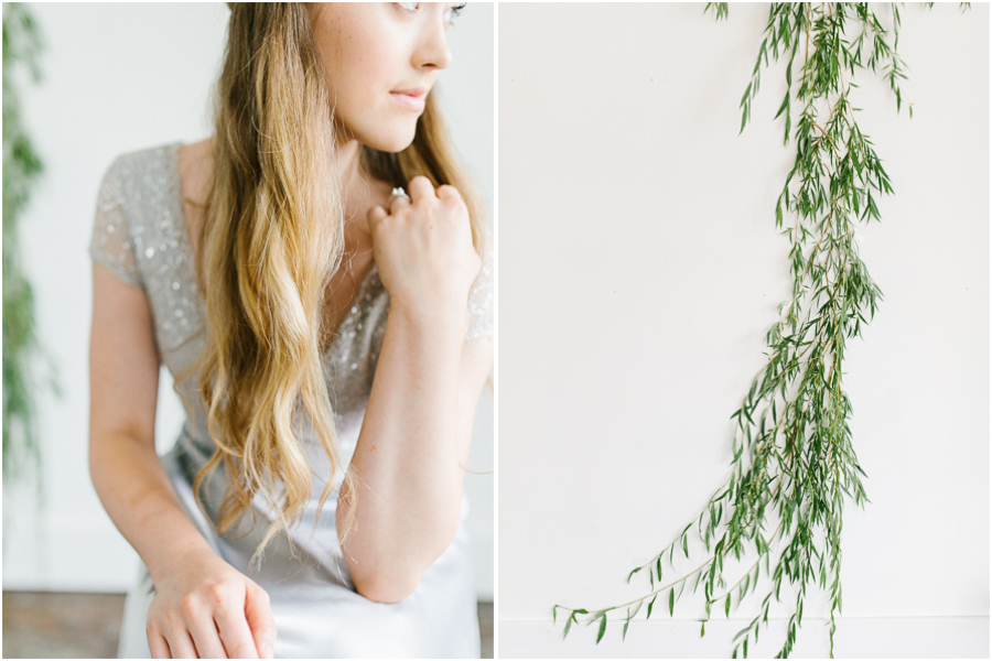 Studio Inspired Styled Shoot | Emma Rose Company | Vintage Grey Inspired Shoot | VSCO | Rent The Runway | Wedding Bouquet with Mint | Greenery Wall Piece.jpg