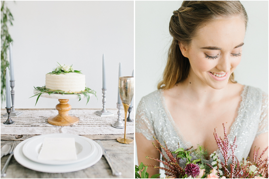 Studio Inspired Styled Shoot | Emma Rose Company | Vintage Grey Inspired Shoot | VSCO | Rent The Runway | Wedding Bouquet with Mint.jpg