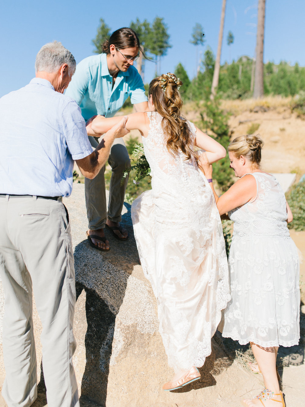 Leavenworth Washington Mountain Top | Wedding | Intimate Wedding Inspiration Outdoors | Pybus Bistro Wenatchee, Washington | VSCO | Simple Wedding | PNW Wedding | Emma Rose Company-27.jpg