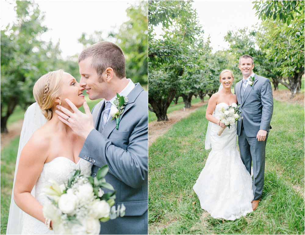 Hampton Hideaway Wedding Wenatchee, Washington | Sunset Portraits in Orchard | Bride Groom Portraits | PNW Wedding | VSCO.jpg
