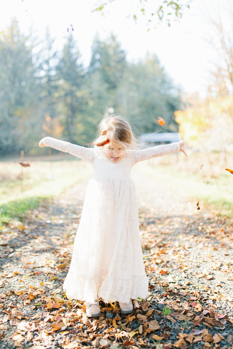 The most perfect fall photo shoot with toddler girl | What to wear to family pictures | Toddler girl in lace dress in woods and fields photo shoot | VSCO | Emma Rose Company | Toddler Outfit Inspiration | Long Lace Dress on Little Girl-3.jpg
