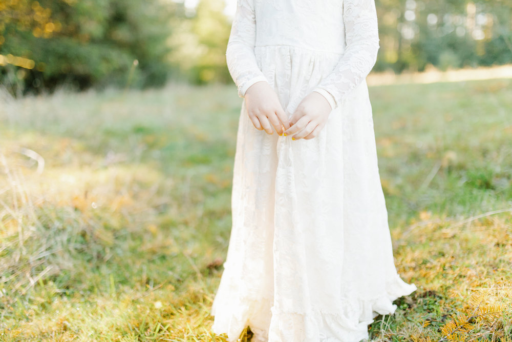 The most perfect fall photo shoot with toddler girl | What to wear to family pictures | Toddler girl in lace dress in woods and fields photo shoot | VSCO | Emma Rose Company | Toddler Outfit Inspiration | Long Lace Dress on Little Girl-9.jpg