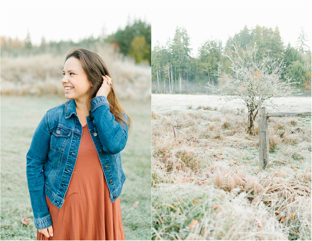 Sunrise Engagement Session on Cattle Ranch | Emma Rose Brides | Emma Rose Company Photography | Beautiful Sunrise Photo Session | VSCO | Winter Engagement Frosty Field Photo Session | Cute Engagement Inspiration | Seattle Bride.jpg
