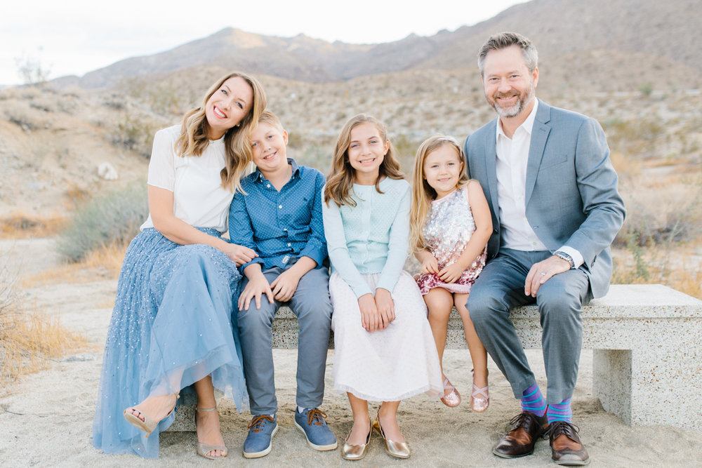 The Most Perfect Desert Family Photo Session | Palm Springs Photography | What to Wear to Family Pictures | VSCO | Emma Rose Company | Gorgeous Sunset Family Session-22.jpg