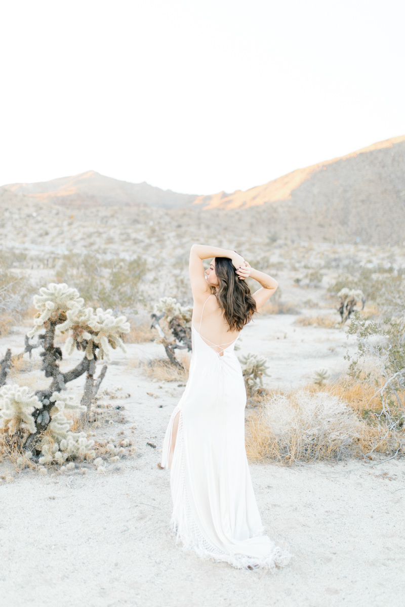 Palm Springs Desert Bridal Session | Non Traditional Wedding Inspiration | Destination Wedding Photography | Sunrise Palm Springs Session in Wedding Dress | Southern California Bride | So Cal Wedding | Emma Rose Company-12.jpg