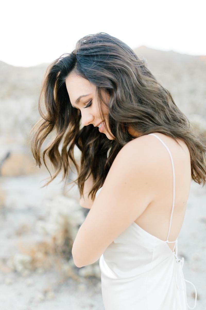 Palm Springs Desert Bridal Session | Non Traditional Wedding Inspiration | Destination Wedding Photography | Sunrise Palm Springs Session in Wedding Dress | Southern California Bride | So Cal Wedding | Emma Rose Company-13.jpg