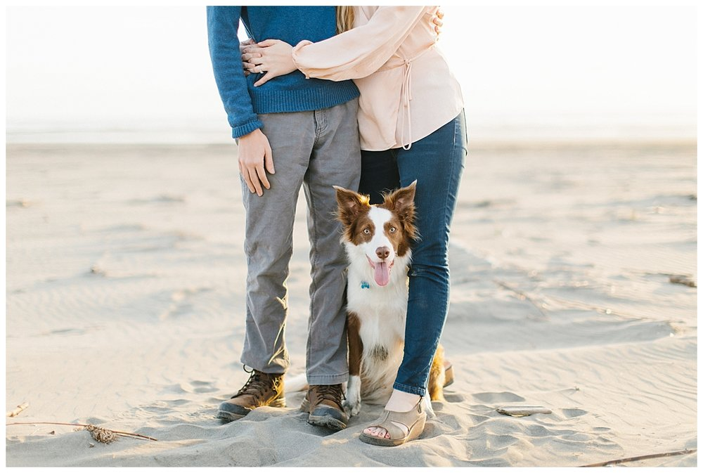 Engagement Sessions and Why They Are Important | Emma Rose Company | Ocean Engagement Session | Dog in Engagement Pictures.jpg
