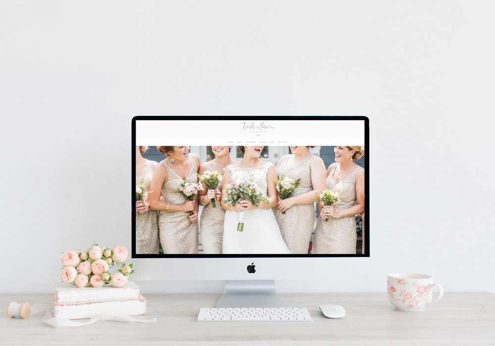 Emma Rose Company Squarespace Website Designer | Trish Allison Photography Website Launch | Project Details Portfolio