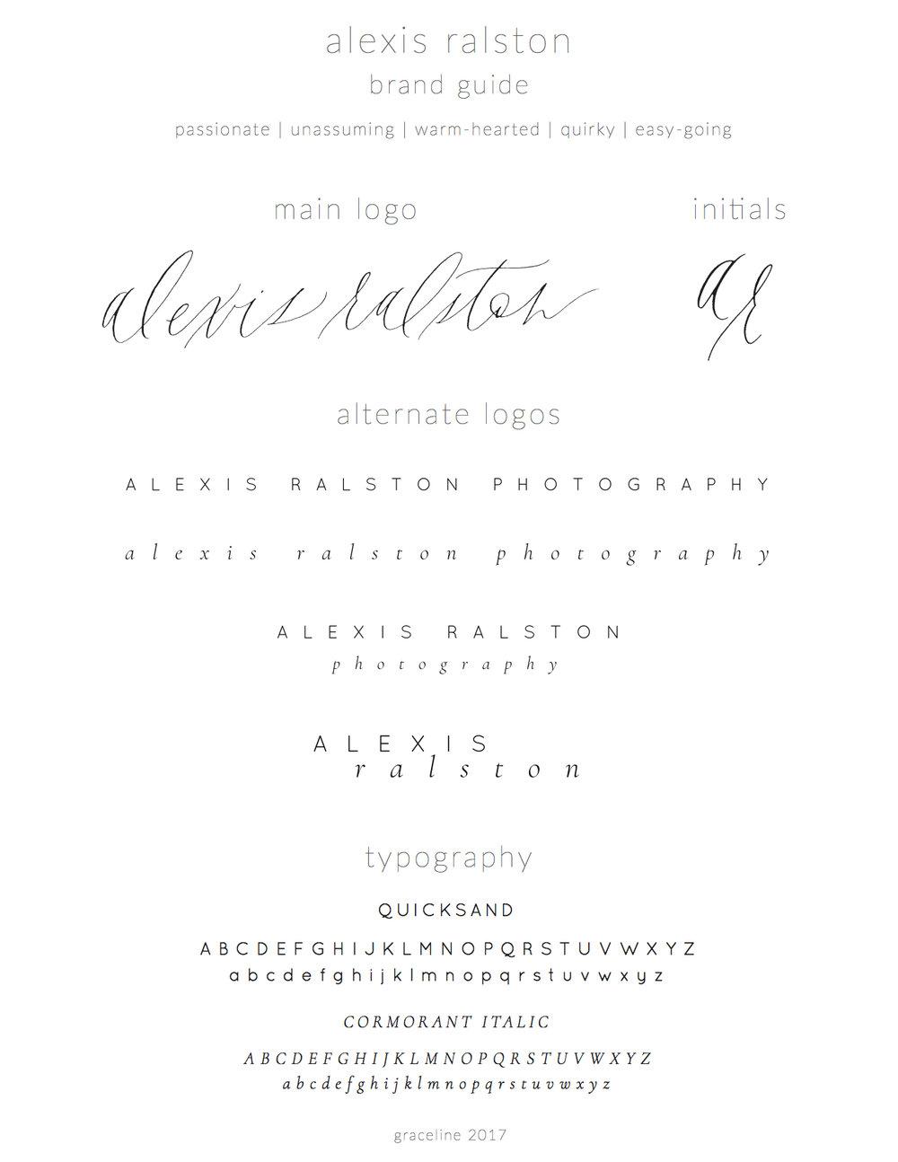 Emma Rose Company Squarespace Website Designer | Alexis Ralston Photography Website Launch | Project Details Portfolio