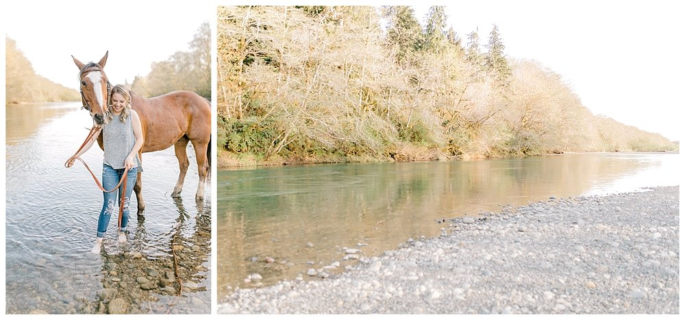 Sunset Senior Session with Horse | Senior Session Inspiration Session | Horse Photo Session | Pacific Northwest Light and Airy Wedding and Portrait Photographer | Emma Rose Company | Kindred Presets Beautiful.jpg