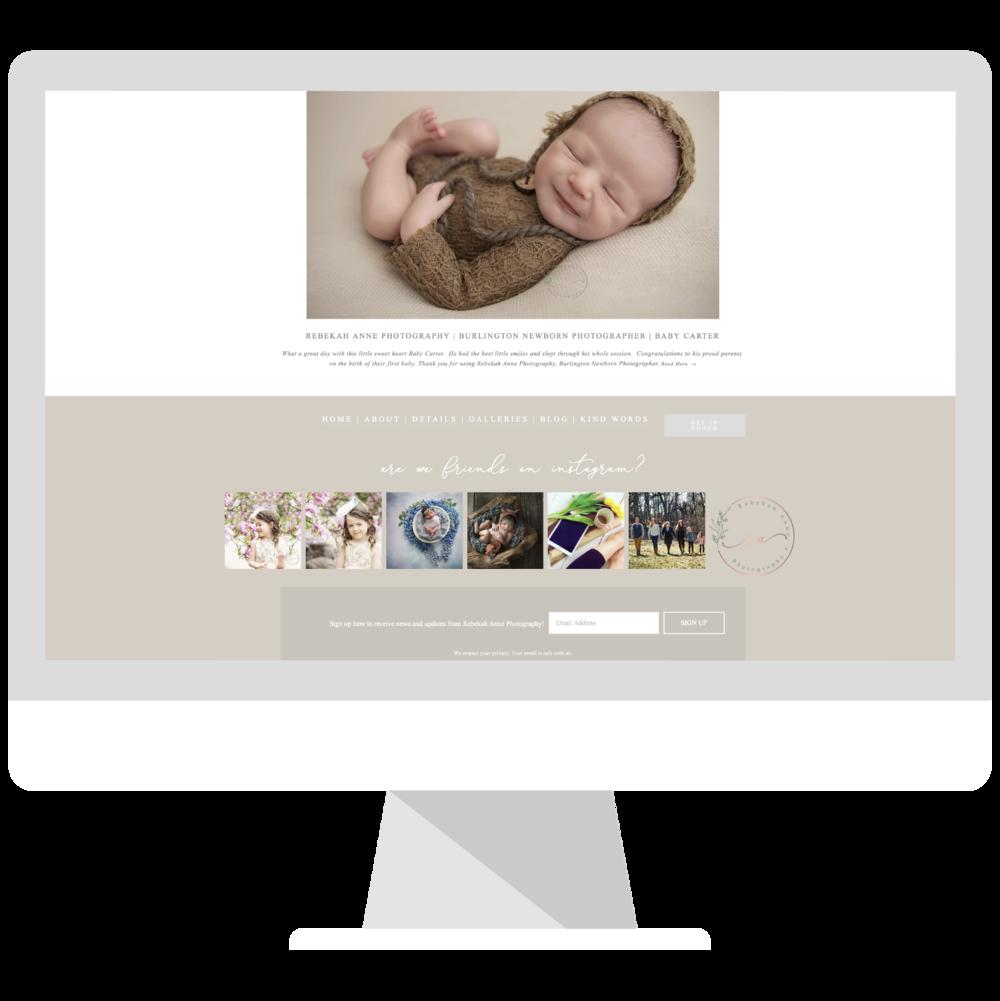 Rebekah Anne Photography Website Design Project | Emma Rose Company Website Designer for Photographers | Squarespace Website Designer for Creatives.jpg