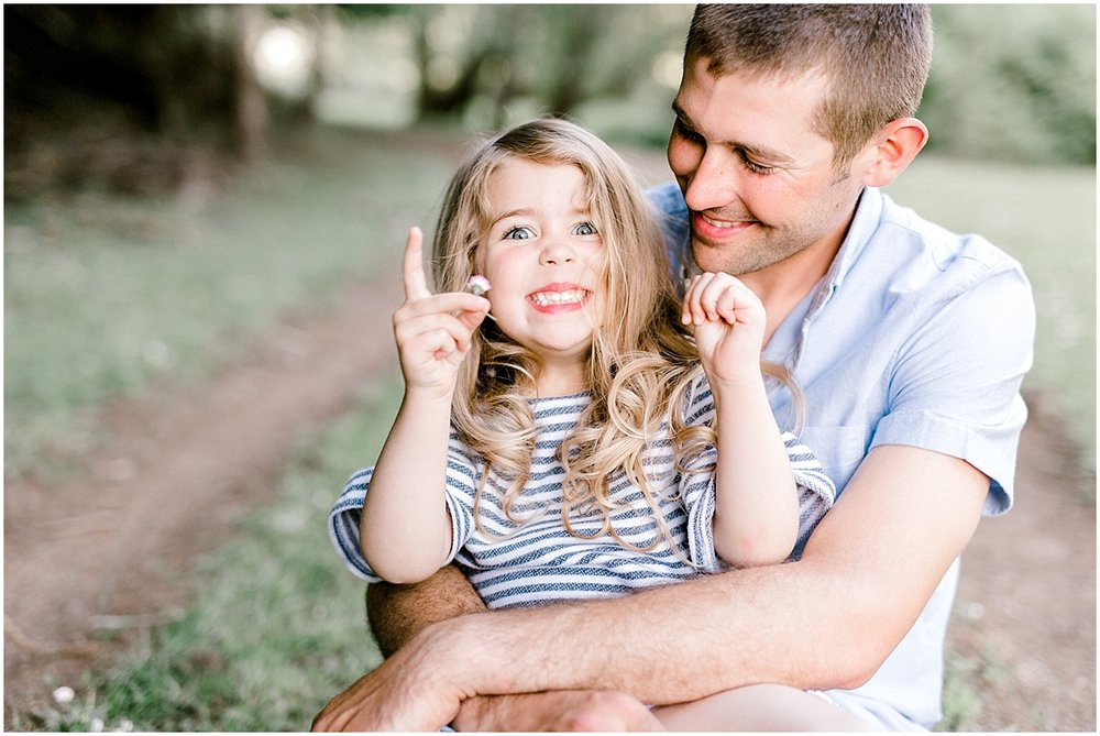 Emma Rose Company Family Pictures, What to Wear to Family Portraits, Lora Grady Photography, Seattle Portrait and Wedding Photographer, Outdoor Family Session, Daddy Daughter.jpg