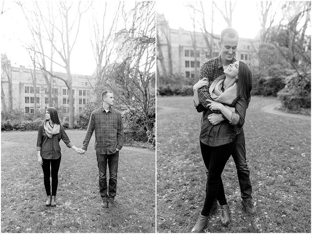 University of Washington Engagement Session | College Campus Photo Session | UW | Seattle Engagement Session | Seattle Wedding Photographer | Emma Rose Company37.jpg