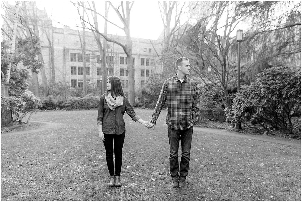University of Washington Engagement Session | College Campus Photo Session | UW | Seattle Engagement Session | Seattle Wedding Photographer | Emma Rose Company40.jpg