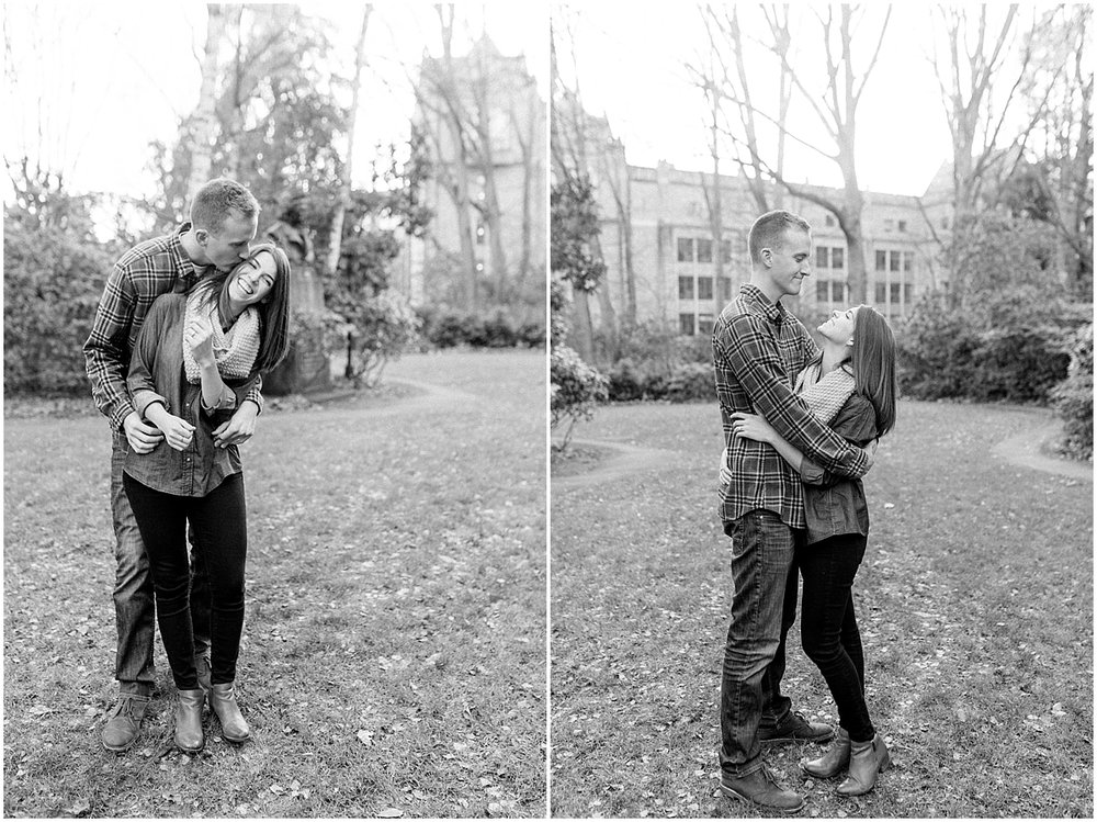 University of Washington Engagement Session | College Campus Photo Session | UW | Seattle Engagement Session | Seattle Wedding Photographer | Emma Rose Company41.jpg