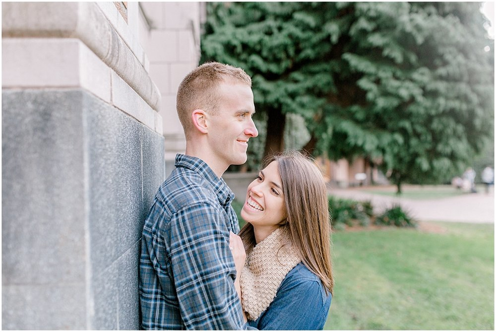 University of Washington Engagement Session | College Campus Photo Session | UW | Seattle Engagement Session | Seattle Wedding Photographer | Emma Rose Company47.jpg
