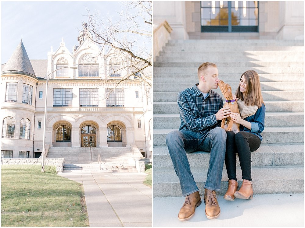 University of Washington Engagement Session | Denny Hall | UW | Seattle Engagement Session | Seattle Wedding Photographer | Emma Rose Company3.jpg