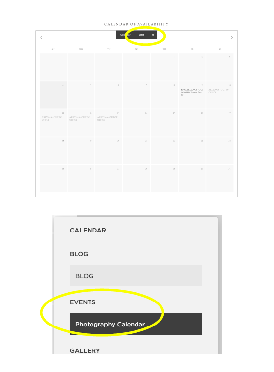 How to Sync a Calendar In Squarespace