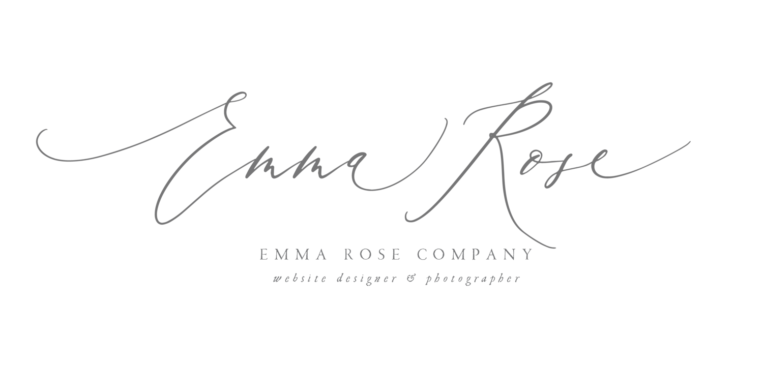 Emma Rose Company | Wedding Photographer | Squarespace Website Designer