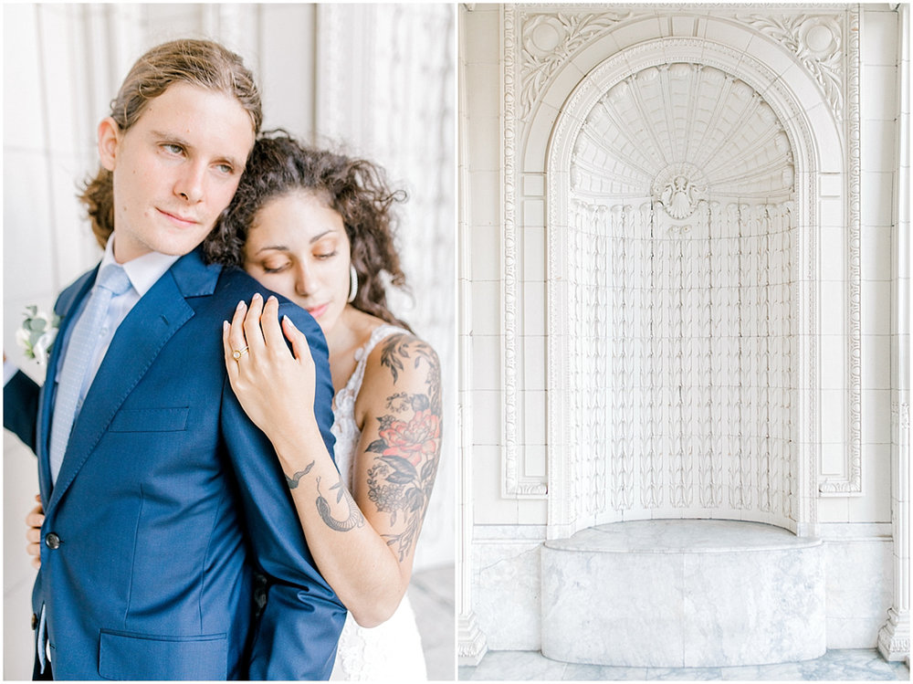 Seattle City Hall Courthouse Wedding Elopement | Seattle Wedding Photographer | Emma Rose Company | Downtown Seattle Wedding Inspiration | Pacific Northwest Elopement | Courthouse Elopement in the City-71.jpg
