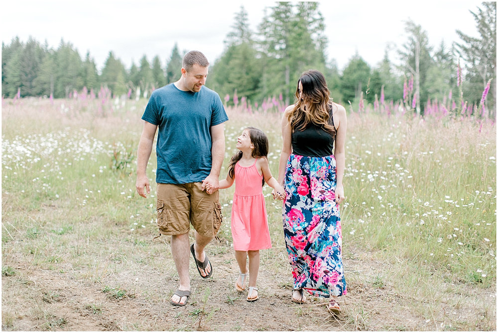 Beautiful Evening Engagement Session on Rose Ranch | Emma Rose Company Seattle and Olympia Wedding and Portrait Photographer | Engagement in Foxglove Field | Flowers | Pacific Northwest Wedding and Elopement Photographer-14.jpg